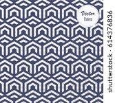 geometric vector pattern ... | Shutterstock .eps vector #614376836