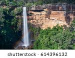 fitzroy falls  southern... | Shutterstock . vector #614396132