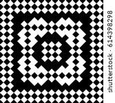slavic embroidery motif. ethnic ... | Shutterstock .eps vector #614398298