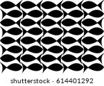 seamless fishes pattern.  ... | Shutterstock .eps vector #614401292