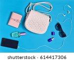women's accessories  handbags ... | Shutterstock . vector #614417306
