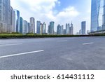 panoramic skyline and buildings ...   Shutterstock . vector #614431112