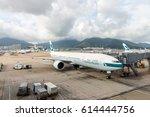 hong kong   july 2  2016 ... | Shutterstock . vector #614444756