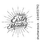 easter monday 5 | Shutterstock .eps vector #614453792