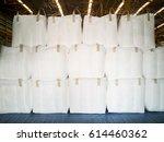 stacking of tapioca in general... | Shutterstock . vector #614460362