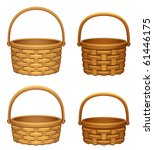 basket   Shutterstock .eps vector #61446175