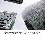 facade on modern buidings | Shutterstock . vector #614473796