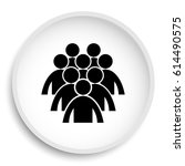 group of people icon. group of... | Shutterstock . vector #614490575