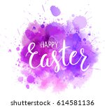 watercolor imitation background ... | Shutterstock .eps vector #614581136