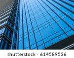 architecture details modern... | Shutterstock . vector #614589536