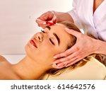 filler injection for female... | Shutterstock . vector #614642576