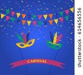 festive celebration background. ...   Shutterstock .eps vector #614656556