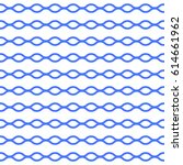 seamless wavy lines pattern.... | Shutterstock .eps vector #614661962