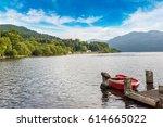 Lake Loch Lomond In A Beautiful ...