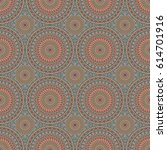 seamless pattern. colorful... | Shutterstock . vector #614701916