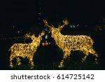 Christmas Lights Reindeer Deer...