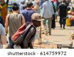 kumasi  ghana   jan 15  2017 ... | Shutterstock . vector #614759972