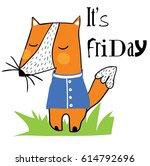cute animal vector artwork | Shutterstock .eps vector #614792696