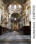 Prague    Interior Of Baroque...