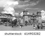 cusco peru nov. 25  cathedral... | Shutterstock . vector #614903282