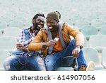 Two Black Race Friends Having...