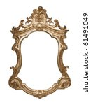 Ornate Vintage Frame With...
