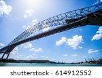 "bridge called ""puente las... | Shutterstock . vector #614912552"