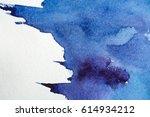 blue abstract grunge texture... | Shutterstock . vector #614934212