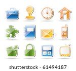 simple business and office...   Shutterstock .eps vector #61494187