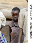 dagomba village  ghana   jan 14 ...   Shutterstock . vector #614948165