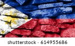 flag of philippines | Shutterstock . vector #614955686