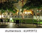 indoor and outdoor restaraunts...   Shutterstock . vector #61495972