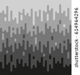 grey melting background... | Shutterstock .eps vector #614964296