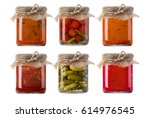Jars Of Pickled Vegetables....