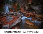 Pruncea Waterfall In Buzau...