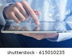 mobile apps. | Shutterstock . vector #615010235