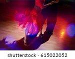 dancing. | Shutterstock . vector #615022052