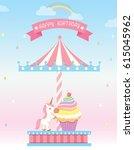 illustration vector of cupcakes ...   Shutterstock .eps vector #615045962