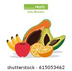 infographic icon. nutrition... | Shutterstock .eps vector #615053462