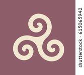 spiral vector symbol   Shutterstock .eps vector #615065942