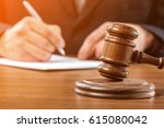 law. | Shutterstock . vector #615080042