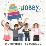 children early education... | Shutterstock . vector #615080132