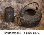 Old And Grunge Vintagev Pot Or...