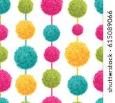 vector fun colorful decorative... | Shutterstock .eps vector #615089066