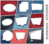 abstract creative concept comic ...   Shutterstock .eps vector #615103508