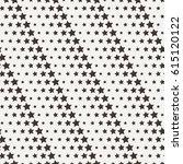 seamless star pattern. endless... | Shutterstock . vector #615120122