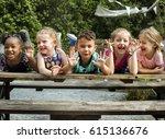 Cute Little Kids Having Fun...