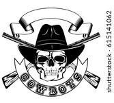 vector illustration skull in...   Shutterstock .eps vector #615141062