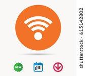 wifi icon. wireless internet...