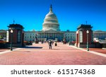 Stock photo washington ds usa capitol 615174368